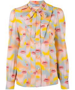 Prada   Lip Print Shirt Size 44