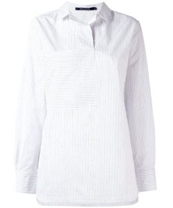 Sofie D'Hoore | Striped Panel Shirt 38 Cotton/Linen/Flax