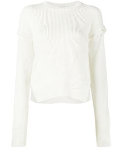 Helmut Lang | Ribbed Button Sleeve Top