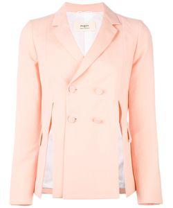 Ports | 1961 Side-Slit Blazer 40 Silk/Cotton/Wool/Viscose