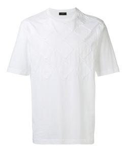 Joseph | Tonal Argyle Knit T-Shirt