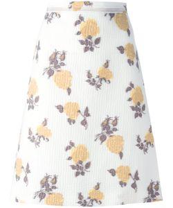 Céline   Print A-Line Skirt Size