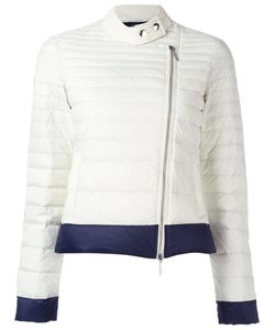 ARMANI JEANS | Zip Up Puffer Jacket 44 Polyamide/Duck