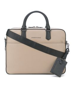 Emporio Armani | Removable Shoulder Strap Briefcase