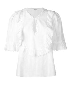 VILSHENKO | Charlotte Blouse 10 Cotton