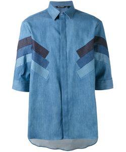 Neil Barrett | Denim Stripe Shirt Size 40