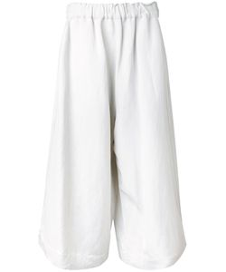 Bassike | Wide Leg Culottes 10 Linen/Flax/Viscose