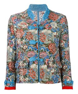 Ermanno Scervino | Jacquard Jacket 44 Polyester/Cotton/Acrylic/Silk