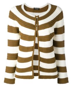 Twin-set | Striped Open Front Cardigan