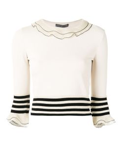 Alexander McQueen | Ruffled Knitted Top