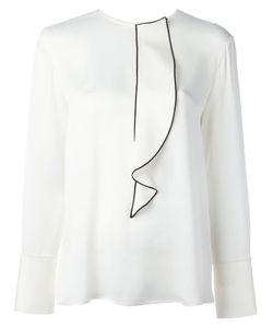 Giorgio Armani | Appliqué Detail Blouse 44 Silk