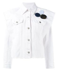 MM6 by Maison Margiela | Куртка-Рубашка С Нашивкой