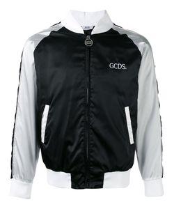 Gcds | Stripe Panel Bomber Jacket Size Large