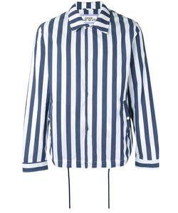Lc23   Striped Shirt Jacket Xl