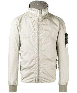 Stone Island | Zip Anorak Jacket Xl Polyurethane Resin/Polyamide