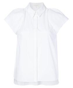 Delpozo | Рубашка Со Структурированными Рукавами