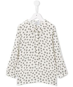Simonetta | Animal Print Blouse 12 Yrs
