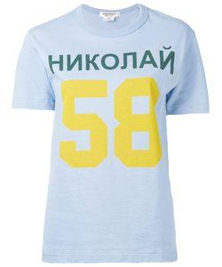 JUNYA WATANABE COMME DES GARCONS | Junya Watanabe Comme Des Garçons 58 Print T-Shirt Medium
