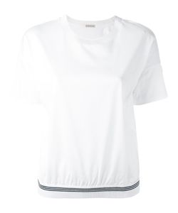 Moncler | Футболка С Логотипом На Рукаве
