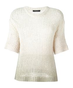 Roberto Collina | Cropped Sleeves Jumper Xs Silk