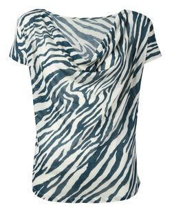 MAJESTIC FILATURES | Striped Pattern Top Size 1