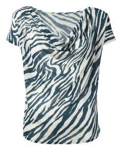 MAJESTIC FILATURES | Striped Pattern Top Size 1