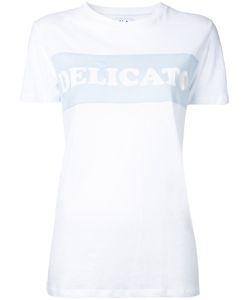 Zoe Karssen | Delicato T-Shirt Small Cotton/Linen/Flax