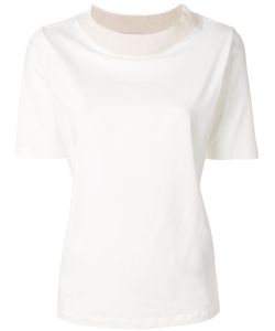 Fabiana Filippi | Contrast Collar T-Shirt Women