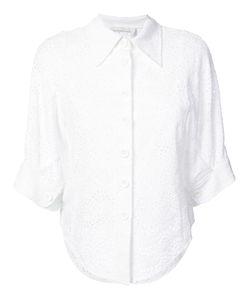 Chloe   Рубашка С Английской Вышивкой