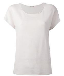 Hemisphere   Loose Fit T-Shirt 40 Wool