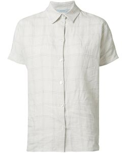 DUSAN | Short-Sleeve Shirt Small Linen/Flax