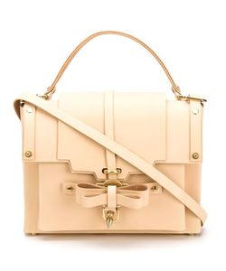 NIELS PEERAER | Bow Detail Flap Bag