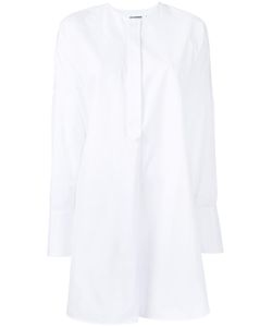 Jil Sander | Collarless Shirt 32 Cotton