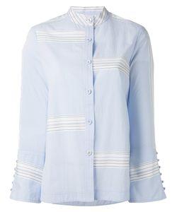 Derek Lam 10 Crosby   Bell Sleeve Button-Down Shirt
