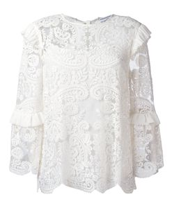 Perseverance London | Embroide Blouse 10 Nylon/Polyester/Viscose