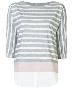 Bogner | Striped Blouse 44 Cotton