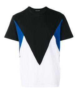 Neil Barrett | Geometric Colour Block T-Shirt Size Large