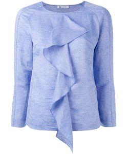 Dondup | Draped Ruffle Blouse Size 44