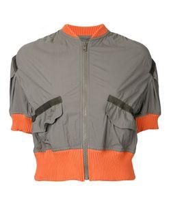 Kolor | Cropped Bomber Jacket Size