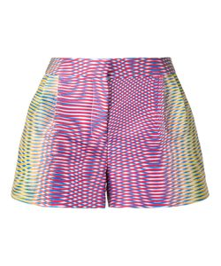 Mary Katrantzou | Zeta Optic Moire Print Shorts Women