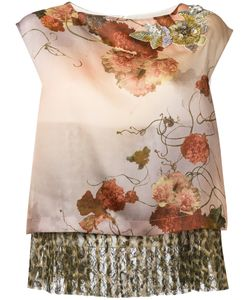 Antonio Marras | Laye Sleeveless Top 44 Silk/Polyester