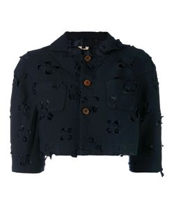 COMME DES GARCONS COMME DES GARCONS | Comme Des Garçons Comme Des Garçons Cut Out Cropped Jacket