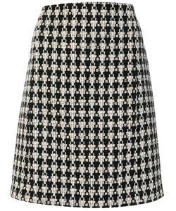 'S Max Mara   Patterned Knitted Straight Skirt Women