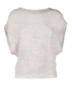Eleventy | Bat-Wing Knitted Top L