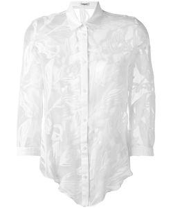 Cacharel | Прозрачная Рубашка С Растительным Принтом