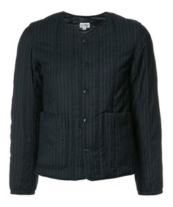 Engineered Garments | Collarless Fitted Jacket 2 Cotton/Polyester/Wool