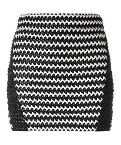 Zoe Karssen | Braided Mini Skirt Medium Polyester/Spandex/Elastane