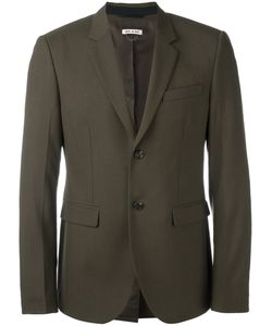 Marni | Single Breasted Blazer 50 Wool/Cotton/Polyimide