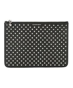 Alexander McQueen | Studded Clutch Leather