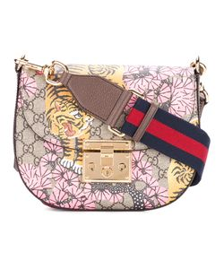 Gucci | Printed Padlock Shoulder Bag